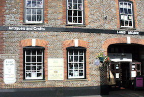 Lamb arcade - 3 floors of antique stalls