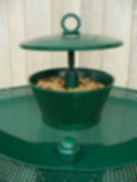 Sunflower seed & mealworm feeder
