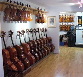 Cellos in WatersViolins