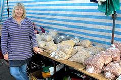 Market Bird Food stall