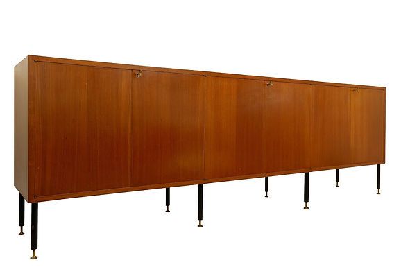 1960s Long Teak Sideboard (Italy)