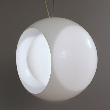 "Pendant Light ""Eclisse"" by Carlo Nason"