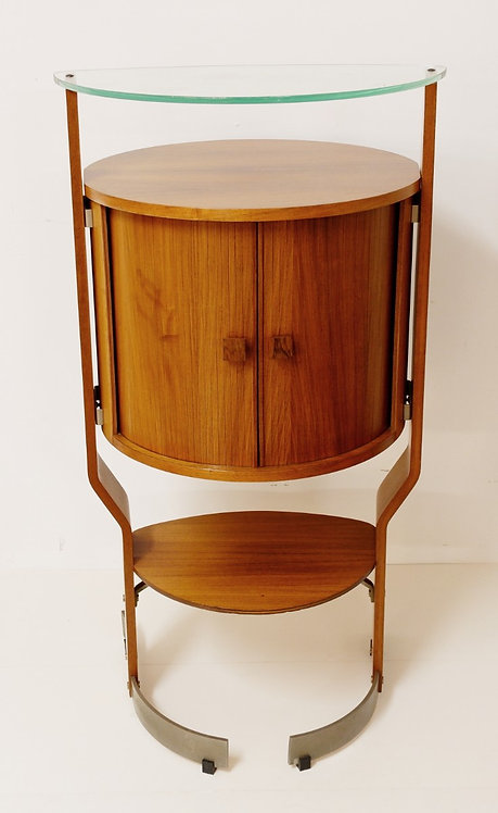 1960's Rosewood Drinks Cabinet from Italy
