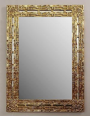 Mid Century Mirror by Luciano Frigerio