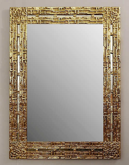Mid Century Mirror Wide