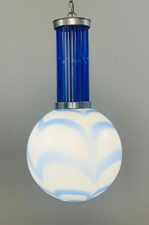 Vintage Murano Pendant Light Lit