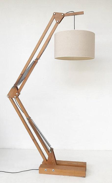 Mid Century Swing Arm Floor Lamp