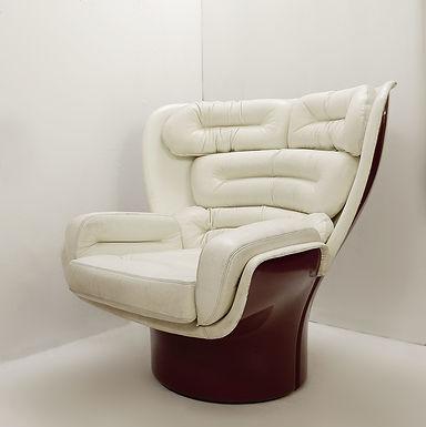 """Swivel Lounge Chair By Joe Colombo Model """"Elda"""" - 1963"""