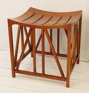 """Dual Purpose """"Tutankhamun"""" Mid Century Modern Footstools / Side Table"""