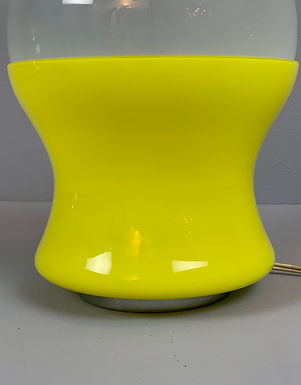 Mid Century Table Lamp in Murano Glass
