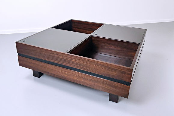 Mid Century Coffee Table by Sormani, Italy c 1970