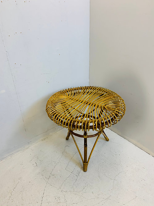 Small Rattan Coffee Table