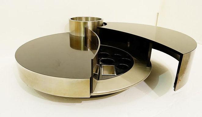 1970's Dual Purpose Table by Massimo Papiri