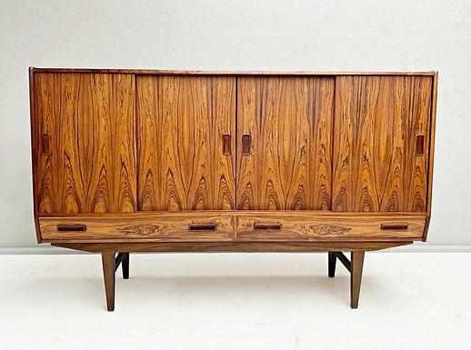 Mid Century Danish Rosewood Highboard Sideboard