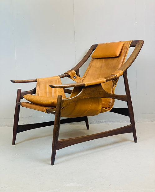 Pair of Mid Century Armchairs from Brazil