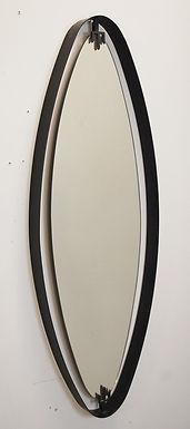Mid Century Oval Mirror-Italy