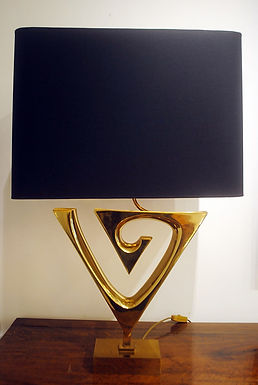 1970's table lamp by Willy Daro