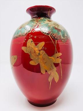 Doulton Art Nouveau Vase Painted by WG Hodkinson