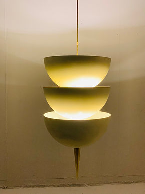 Pendant lamp in the style of Stilnovo