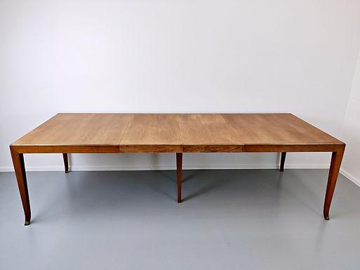 Mid Century Extendable Dining Table by T.H.Robsjohn-Gibbings