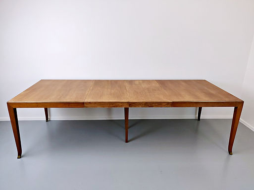 Mid Century Extendable Dining Table by T.H.Robsjohn-Gibbings