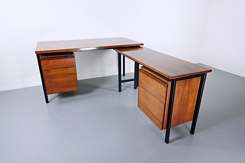 Mid Century Desk by Florence Knoll Wide Shot