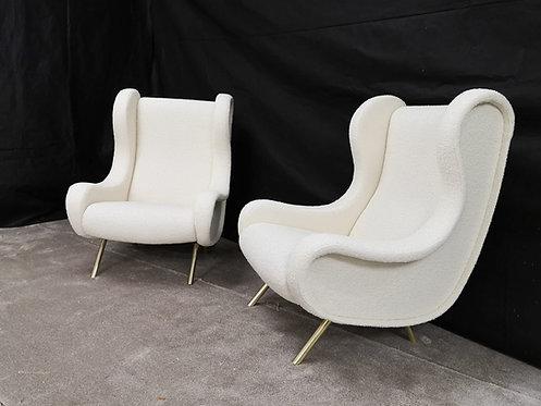 Mid Century Italian Armchairs