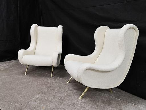Pair of Mid Century Modern Style Armchairs