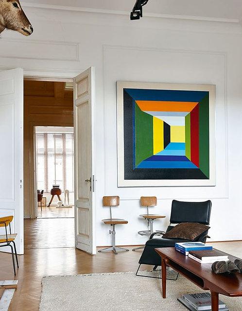 Guy Vandenbranden, paintings
