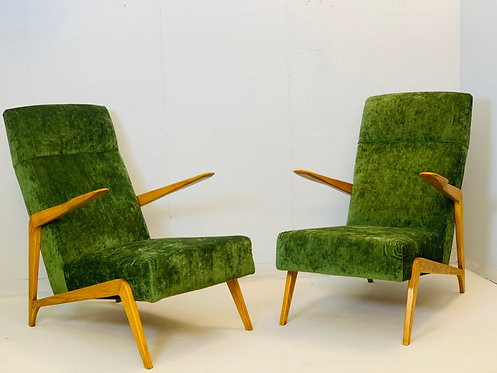 Mid Century Chairs Augusto Romano