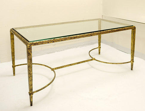 1960's French Coffee Table by Maison Bagues