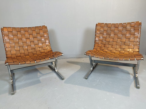 Mid Century Lounge Chairs by Ross Littell