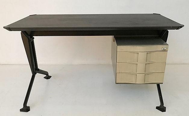 Mid Century Office Desk by Studio BBPR for Olivetti