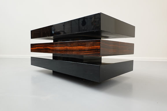 Art Deco Style Lacquered Coffee Table