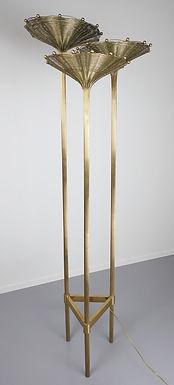 Mid Century Tall Tripod Floor Lamp
