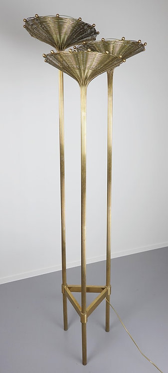 Mid Century Floor Lamp Stem
