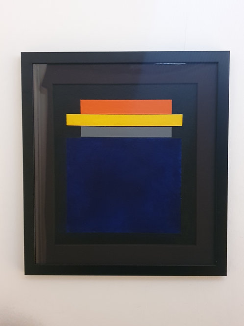 Postmodern Abstract Watercolour by Guy Vandenbranden