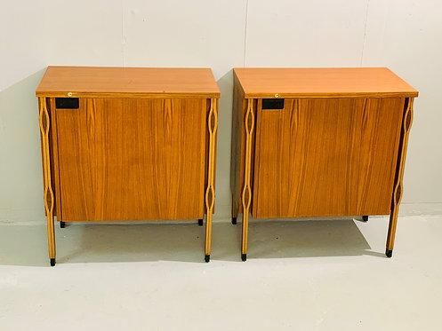 Pair of Mid Century Cabinets Ico Parisi