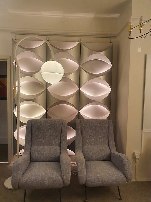 Pair of Aldo Morbelli Lounge Chairs