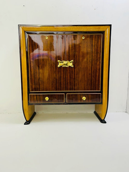 Mid Century Drinks Cabinet Wide