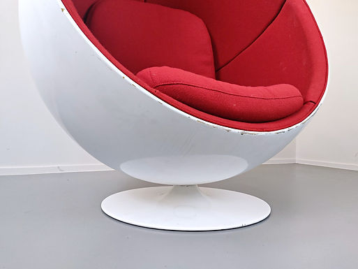 1960's Retro Swivel Ball Chair
