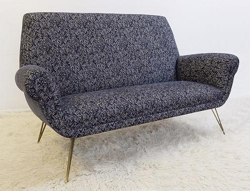 1950's Mid Century Modern Sofa. (Italy)