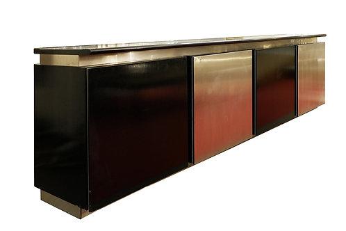 Mid Century Sideboard Oak and Aluminium