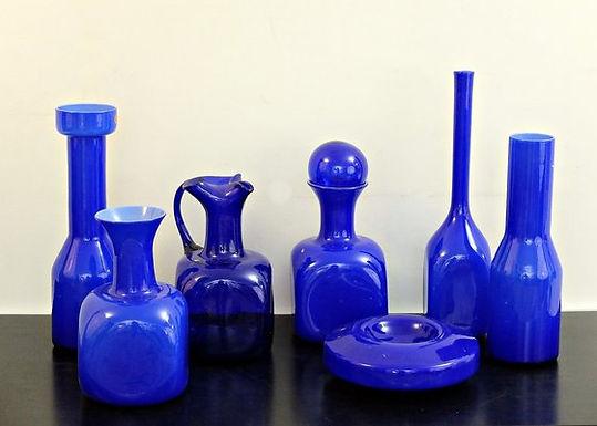 Blue Murano Glass Vases
