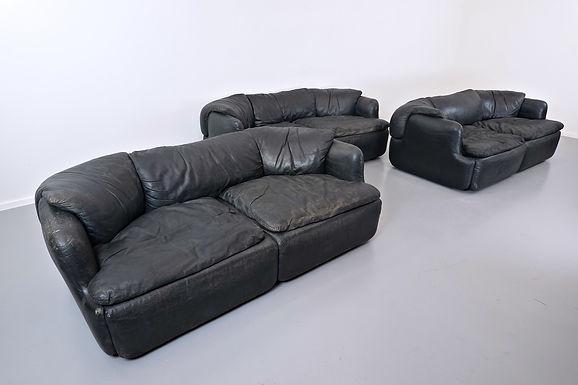 Confidential Sofa By Alberto Rosselli For Saporiti