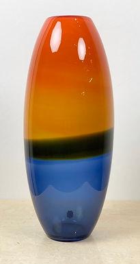 Mid Century Murano Glass vase by Gino Cenedese