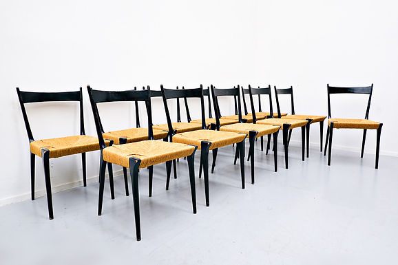 1950's Set of Chairs by Alfred Hendrickx
