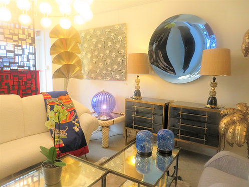 Pair of Table Lamps by Gae Aulenti