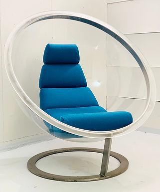 Mid Century Bubble Chair by Christian Danino Edition LaRoche,