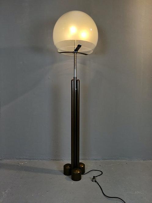 """Mid Century Floor Lamp """"Porcini"""" by Luigi Caccia Dominioni"""